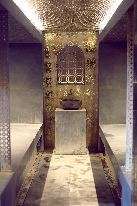 Moroccan-style Hammam