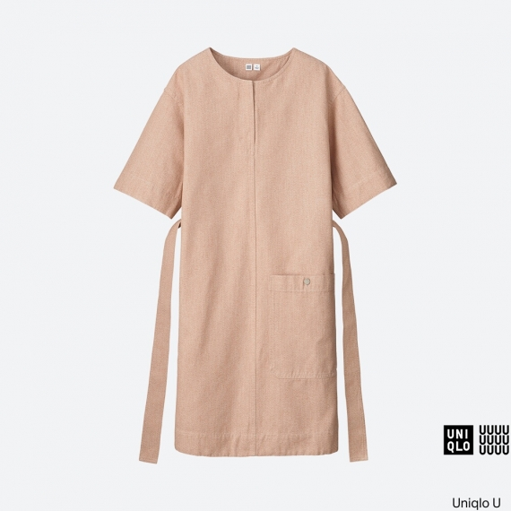 WOMEN Uniqlo U Melange Short Sleeve Sack Dress AU$79.90
