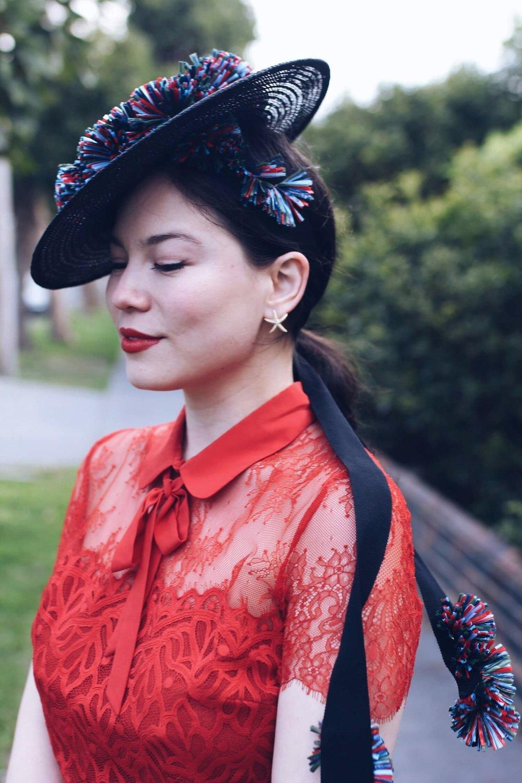 MVM Millinery Lei Lady Lei Blog