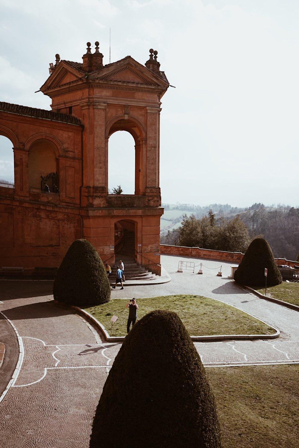 The Sanctuary of Madonna di San Luca