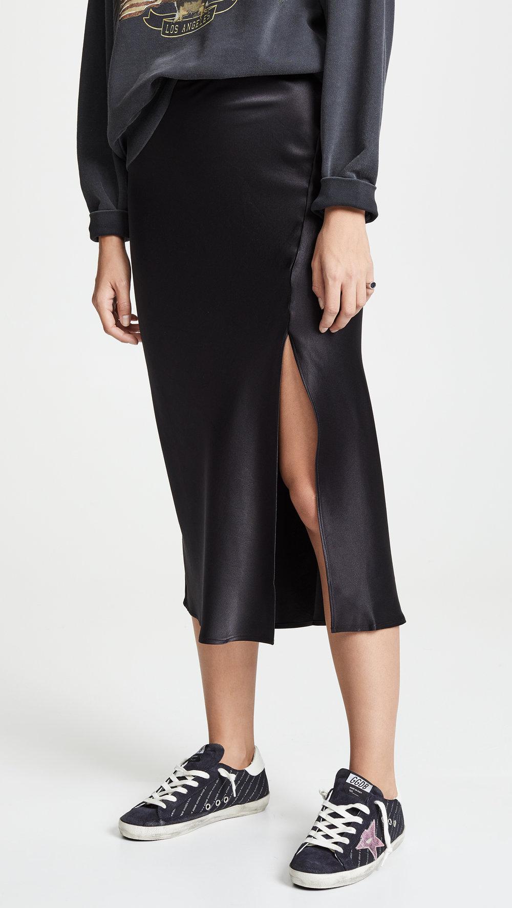 ANINE BING  Dolly Slip Skirt