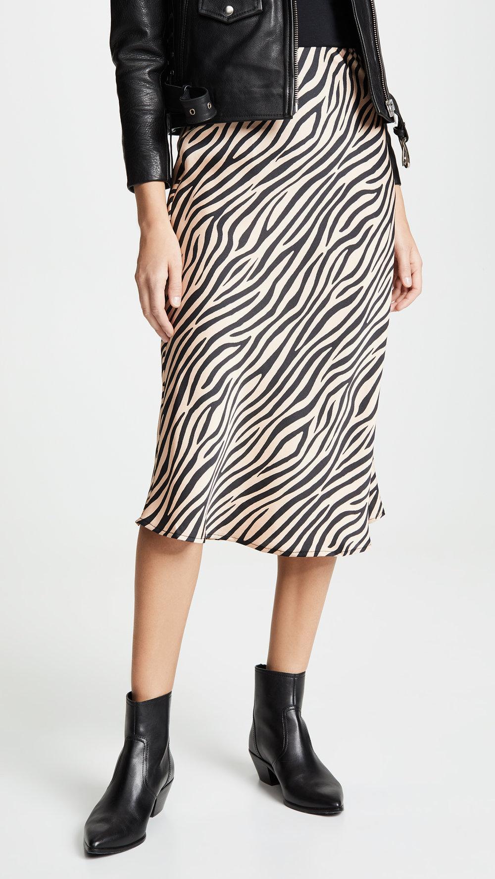 re:named  Jully Tiger Midi Skirt