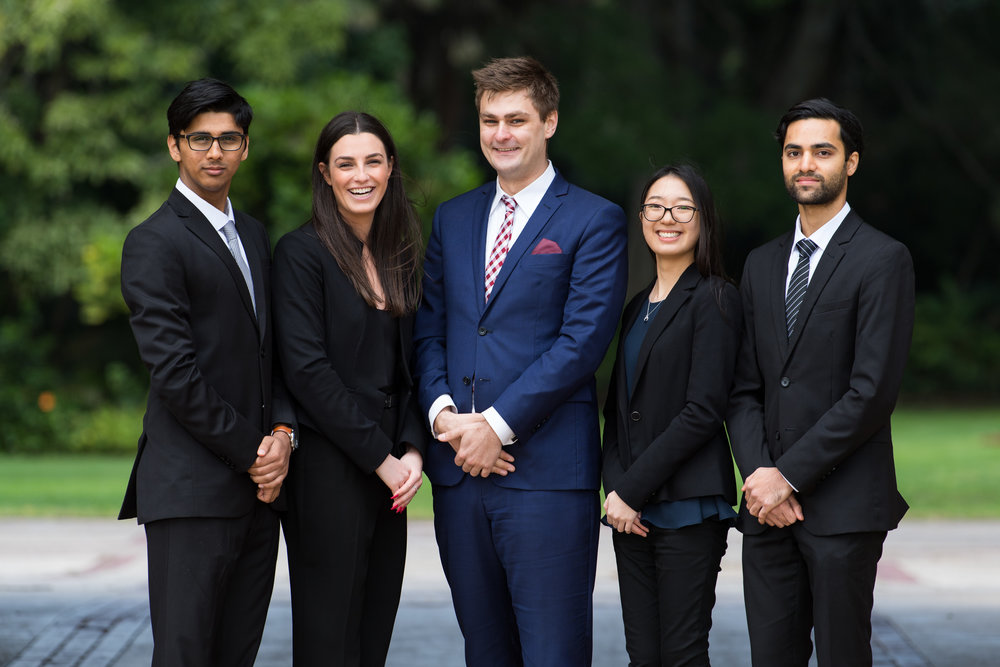 The 2018 UWA Consulting Society Executives