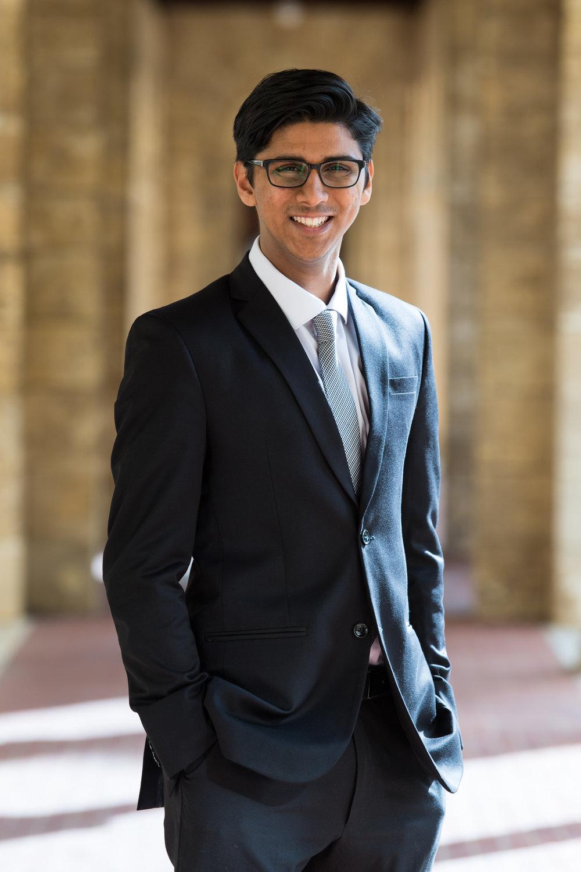 Manan Shah - Co-President