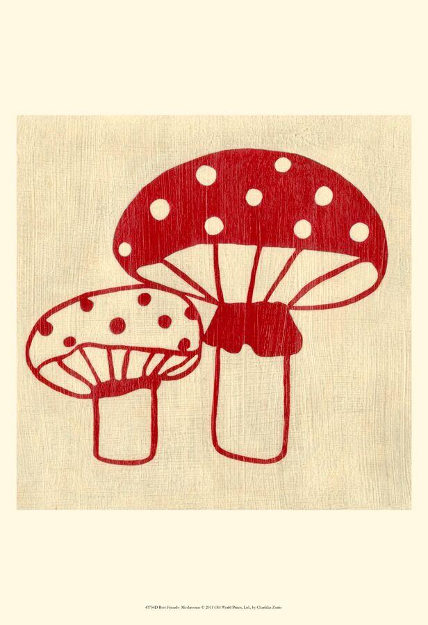 Best Friends Series, Mushroom
