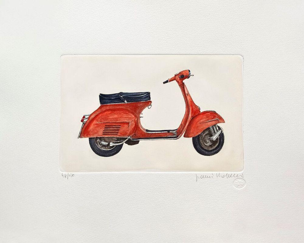 Vespa Series, Red