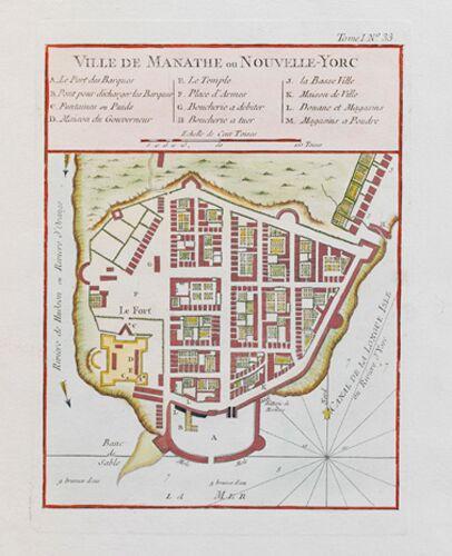 Ville De Manathe Nouvelle-Yorc