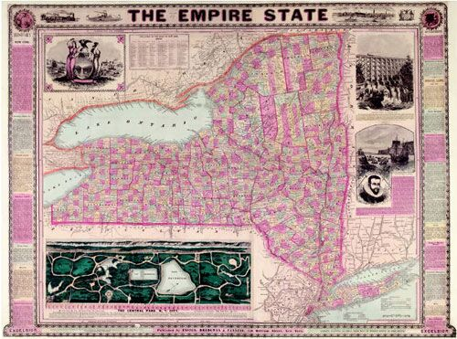 The Empire State 1869