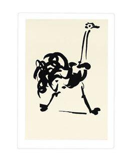 Pablo Picasso, L'Autruche