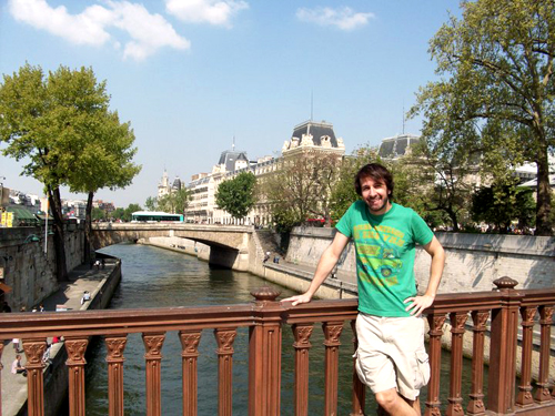 Russ Terry, Life Coach  Me in Paris, France