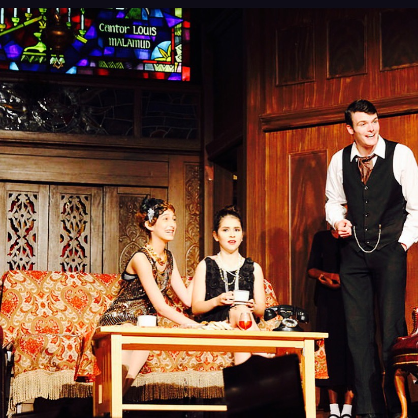 A Scene from our Off Broadway play-What She Deserves a Murder Mystery-Performed at The Actor's Temple-NYC