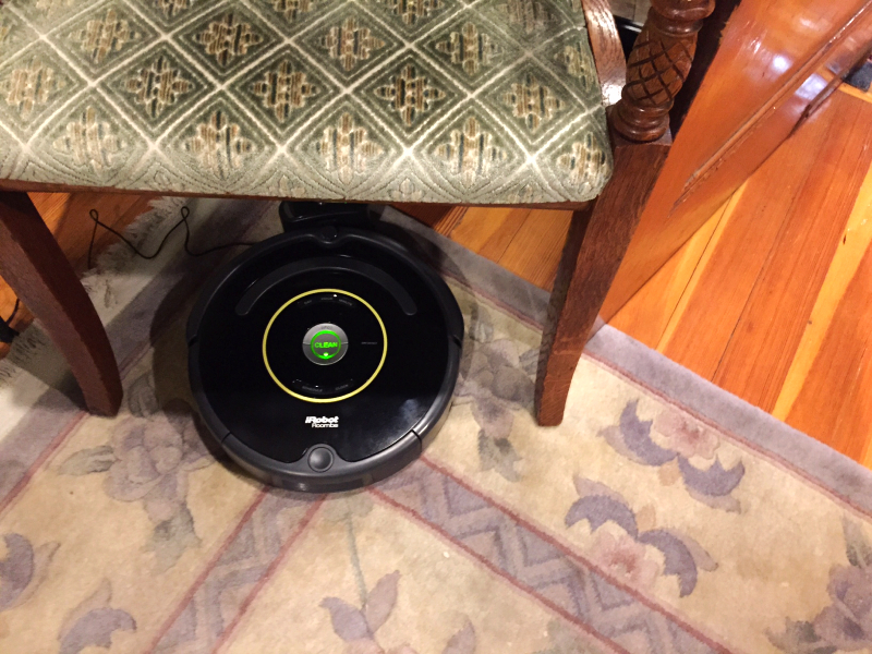 roomba, brookline