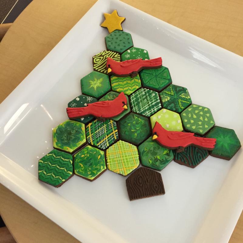 coworker's holiday cookies(sonya kovacic)