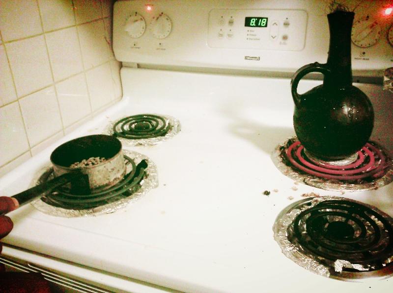 roasting ethiopian coffee beans, south end (sonya kovacic)