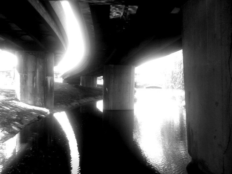 muddy river, under the bowker overpass  (sonya kovacic)