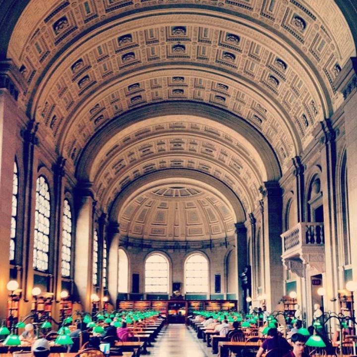 bates hall, boston public library  ( @rachelsandler )