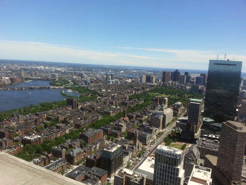 back bay, from the pru  (sonya kovacic)