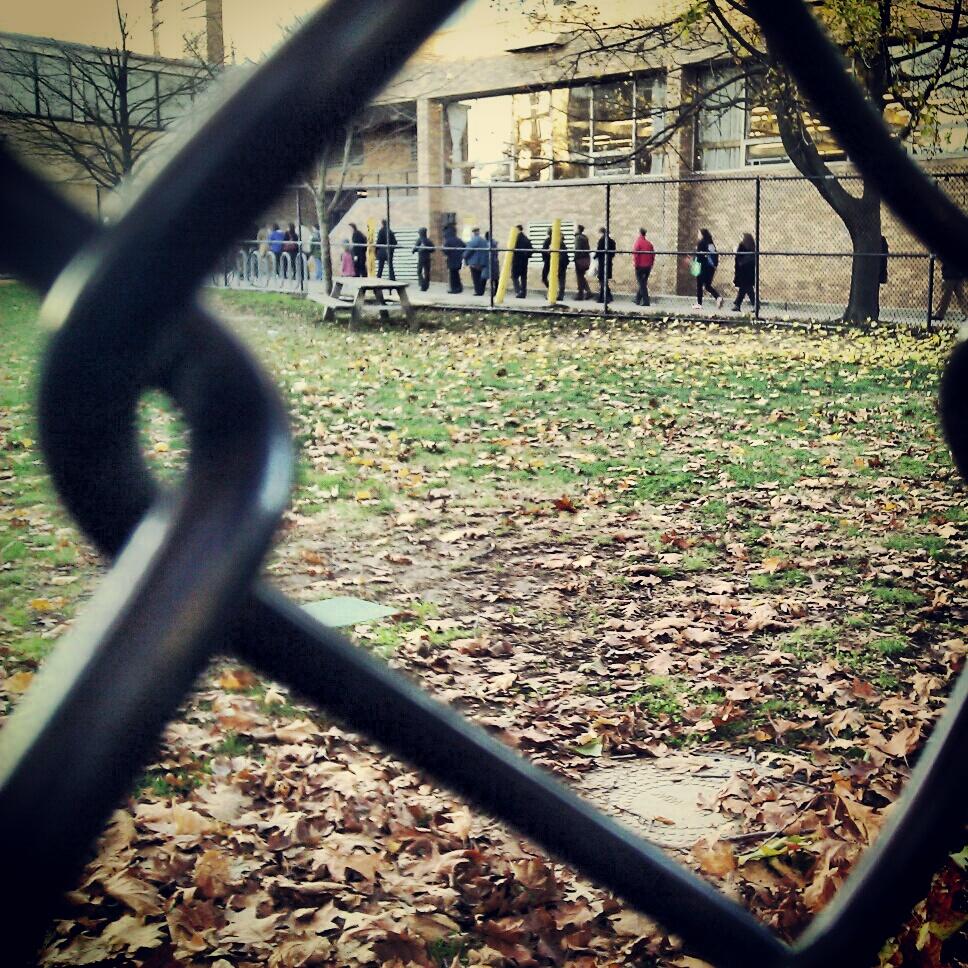 voting line, brookline (sonya kovacic)