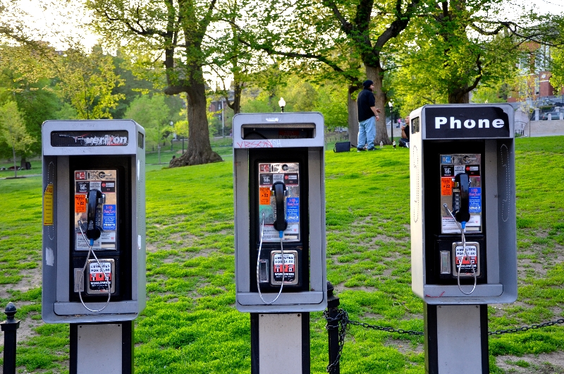 payphones, boston common  (sonya kovacic)