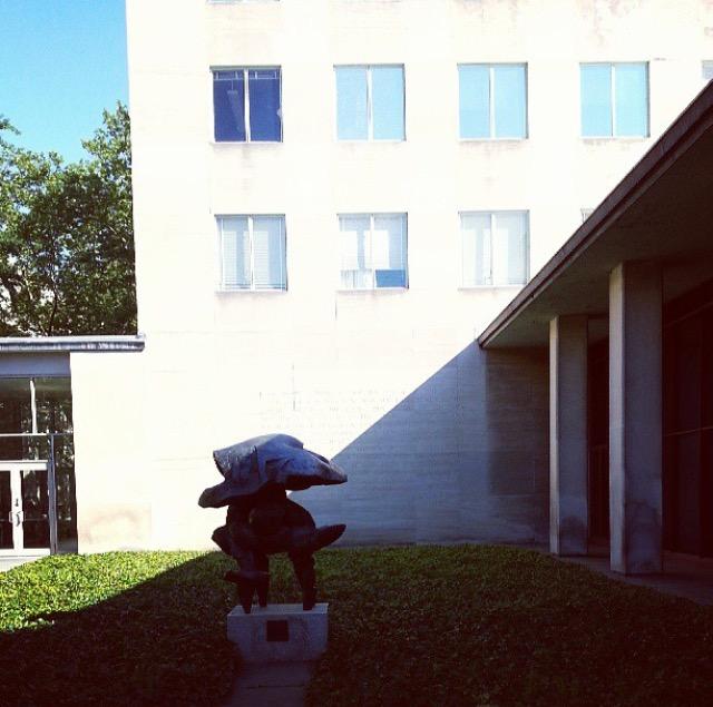 outside hayden library  (sonya kovacic)