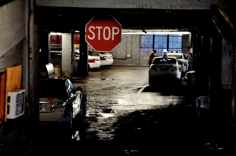 taxi lot, fenway  (sonya kovacic)