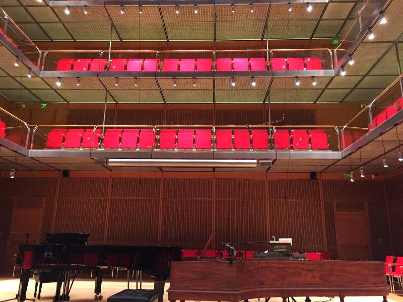 calderwood performance hall, isabella stewart gardner musuem  (sonya kovacic)