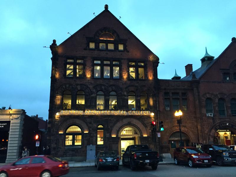 boston architectural college, 951 boylston street  (sonya kovacic)
