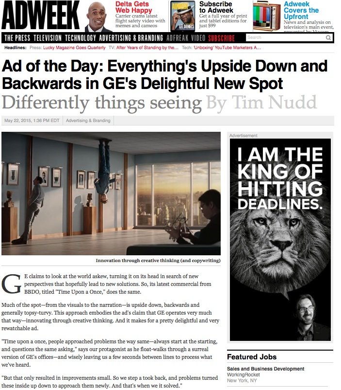 GE-Ad of the day