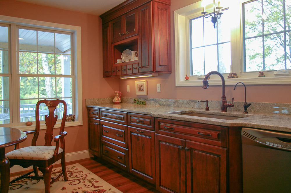 Traditional Kitchen Renovation, New Hampshire