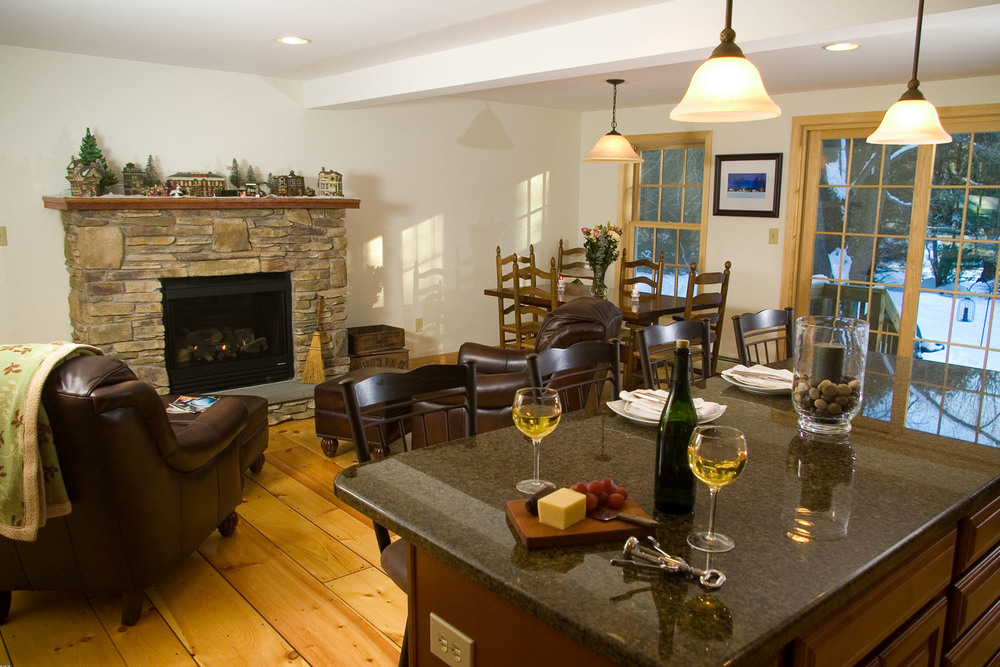 An addition to your home provides much needed space for entertaining and holiday get togethers.