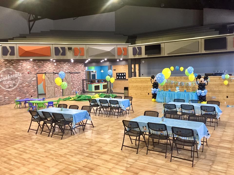 Auditorium Birthday Party