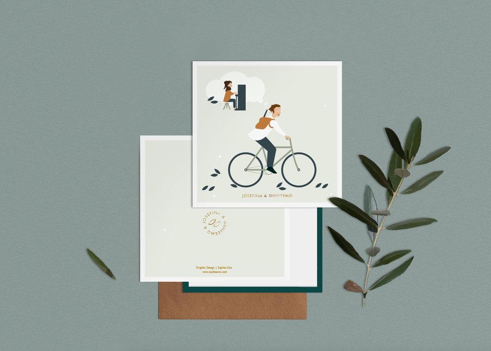 Josefina & Guillermo –Invitations