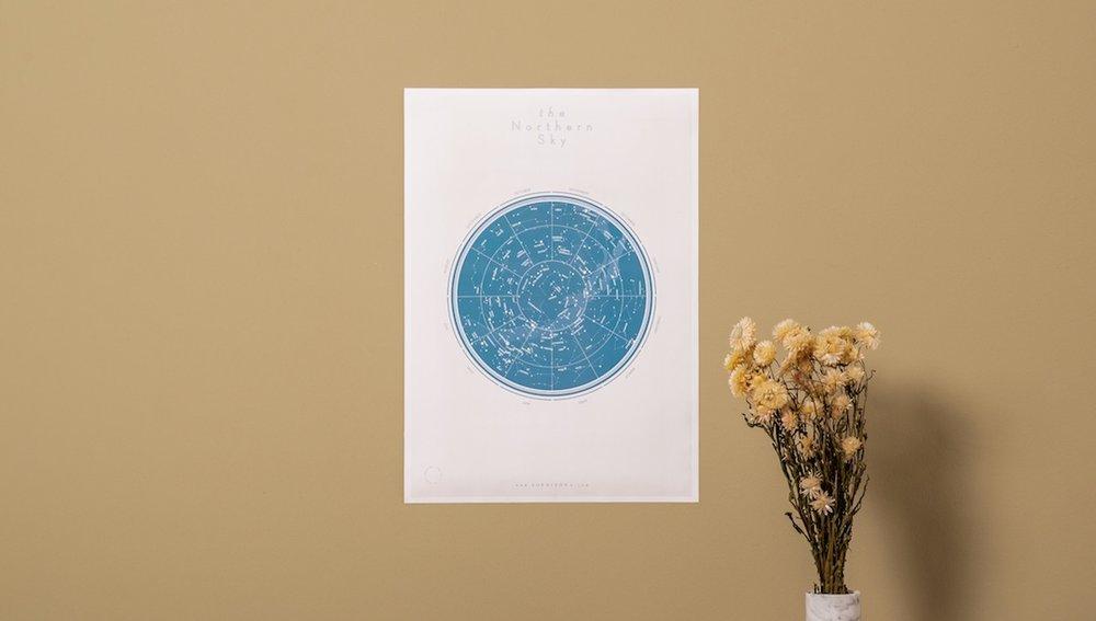 The Northern Sky   — Art Print Series 03 | 17