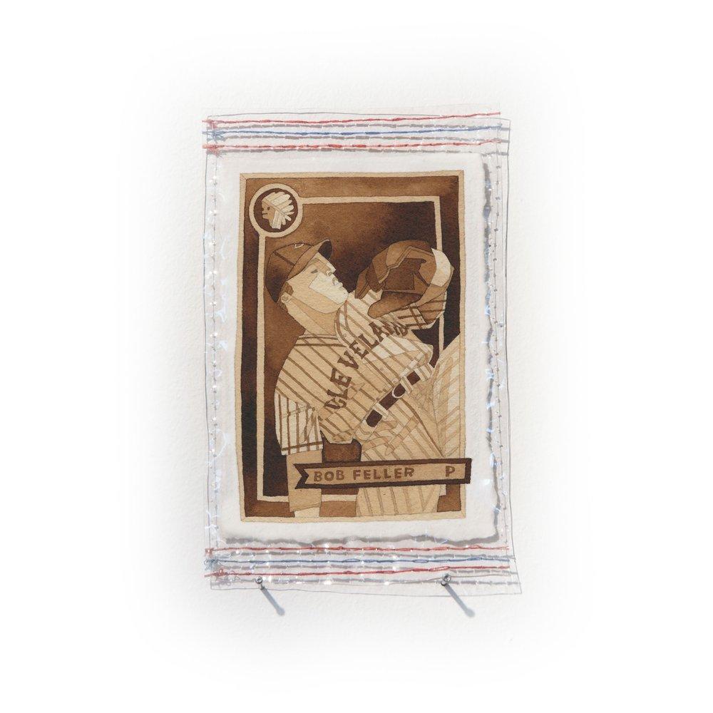 Bob Feller of the Cleveland Indians