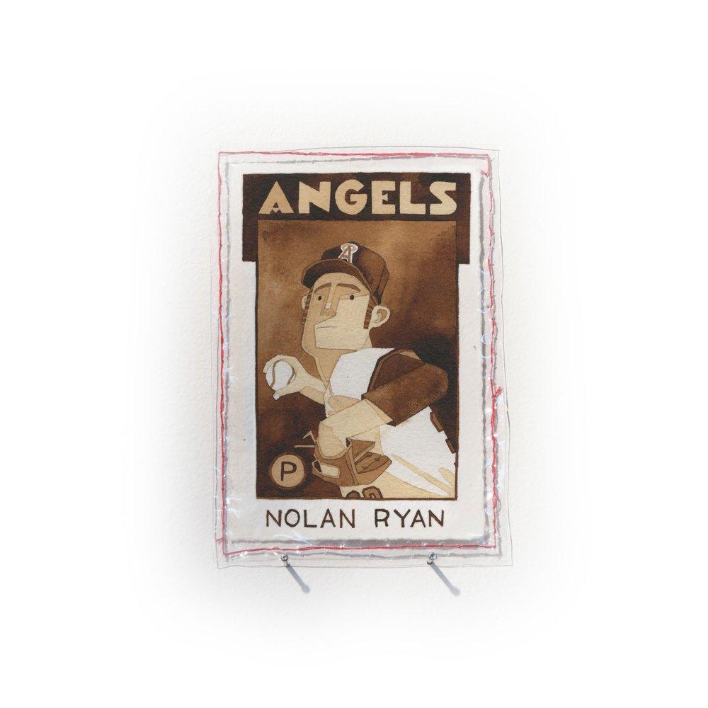 Nolan Ryan of the California Angels