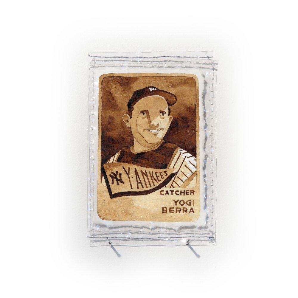 Yogi Berra of the NY Yankees