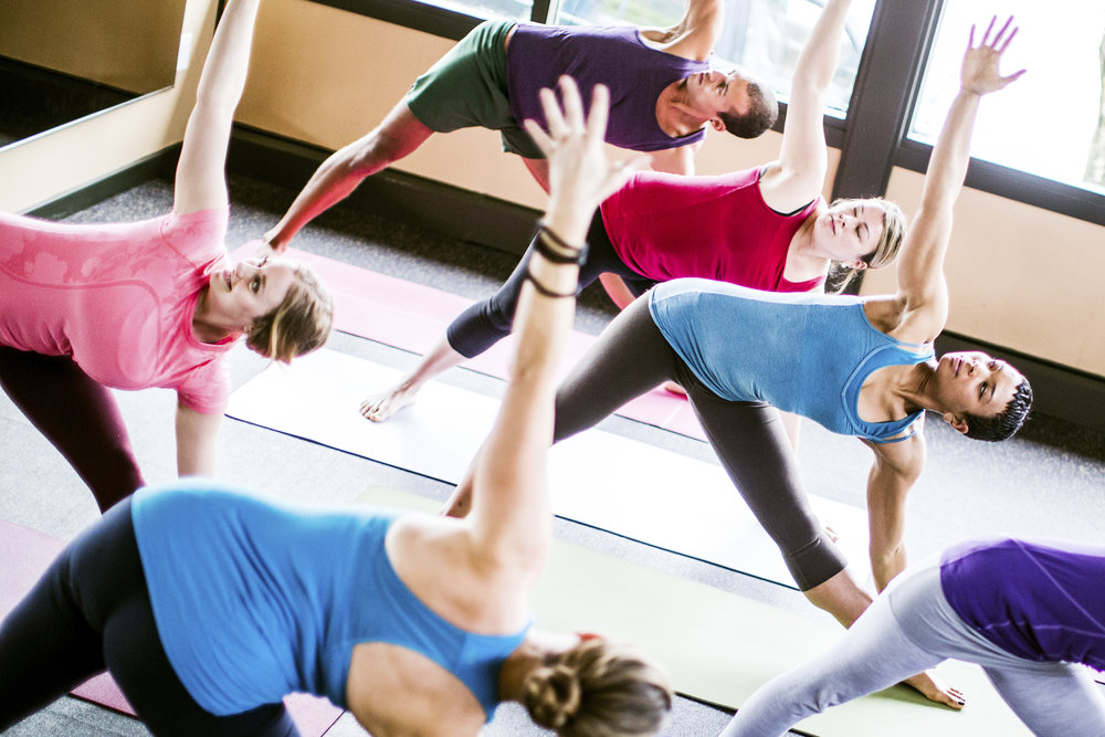 private group yoga class for women in Tampa