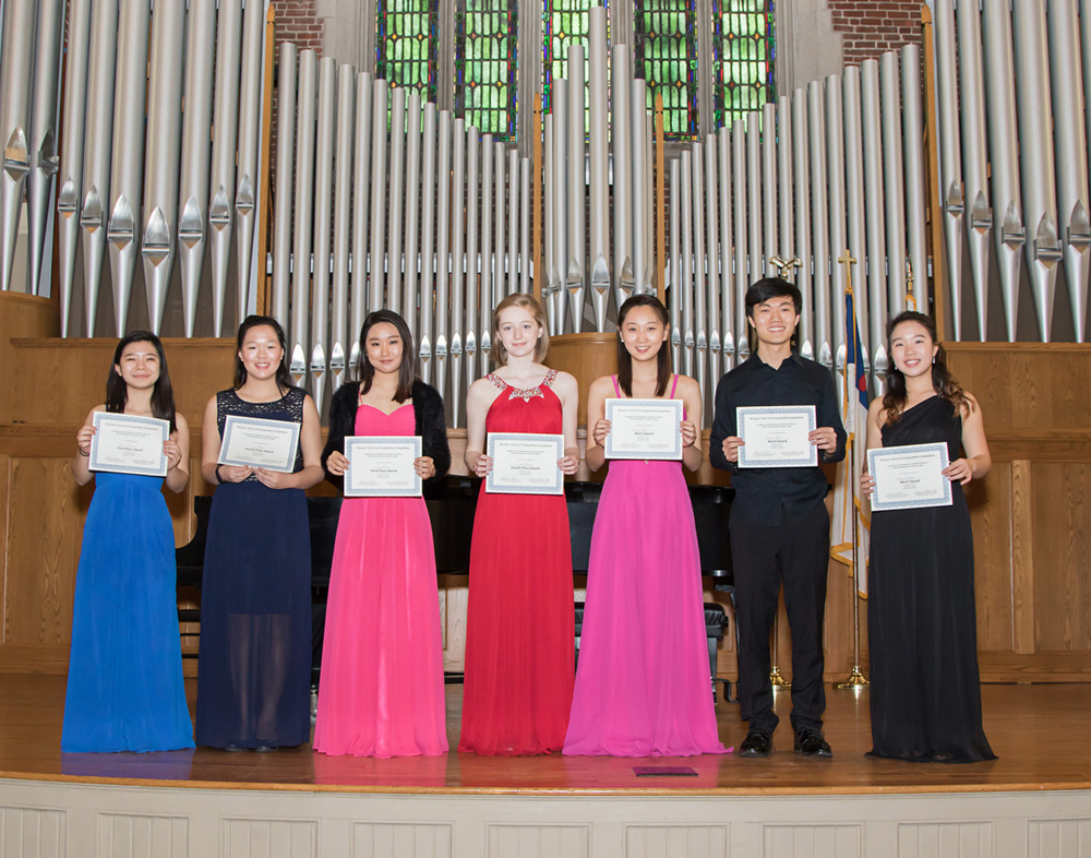 The Montgomery Symphony Orchestra is proud to announce the winners of the 2016 Blount-Slawson Young Artists Competition: