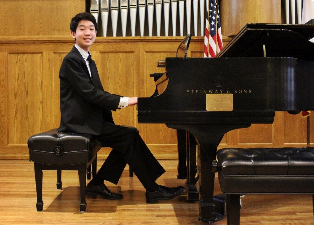 TYLER KIM: First Place Winner of the 2017 Blount-Slawson Young Artist Competition