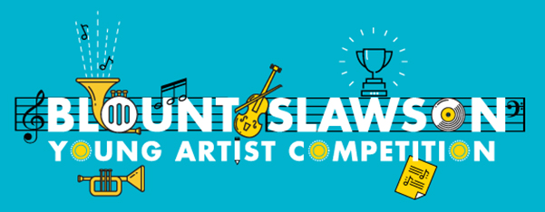 Blount-Slawson Young Artist Competition - January 27-28, 2018Since 1981, the Symphony League has mounted a concerto competition for pre-college instrumentalists with the winner appearing as a guest artist with the Montgomery Symphony Orchestra.