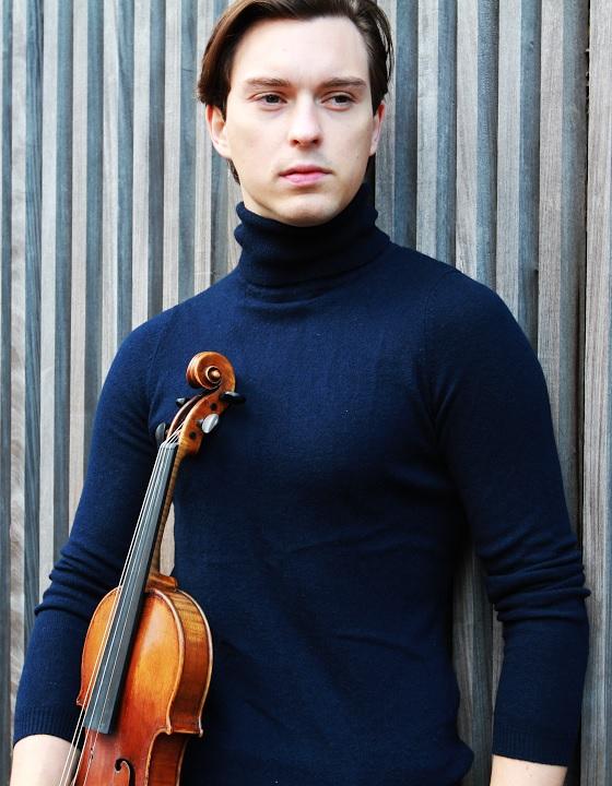 Sven Stucke - Montgomery Symphony Violin Fellow
