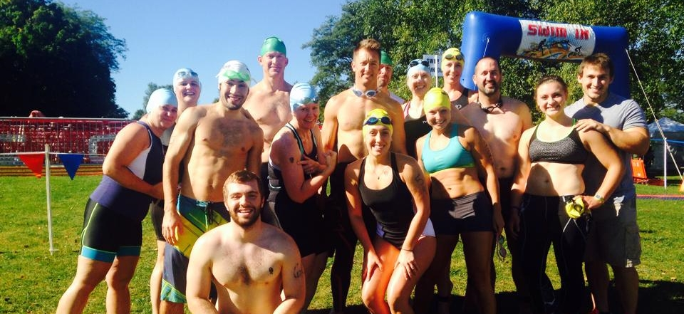 Island Lake Triathlon with my friends from Crossfit Treetown