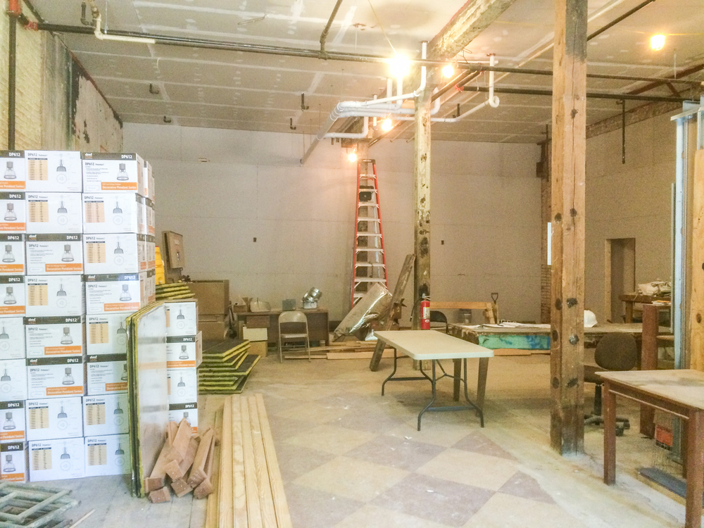 Retail Space #1 will look a lot different...soon!