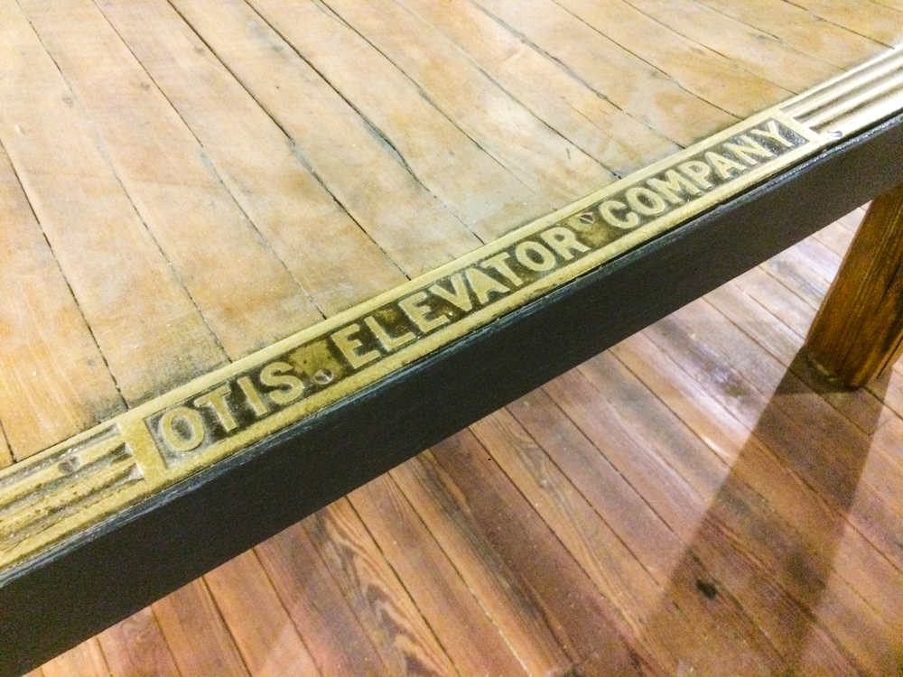 Otis Elevator Coffee Table