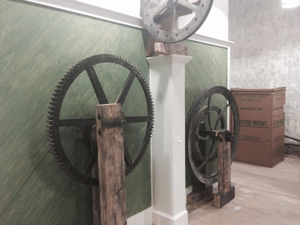 Otis Elevator Gears