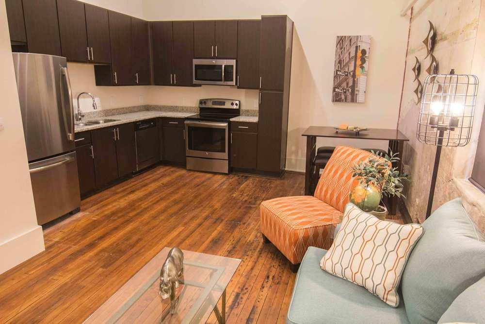 Capitol Apartment Kitchen