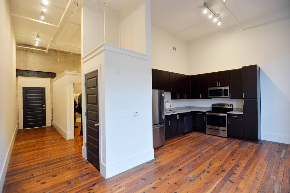 One Bedroom Capitol Loft at The Lamar on Cherry Street in Downtown Macon, GA