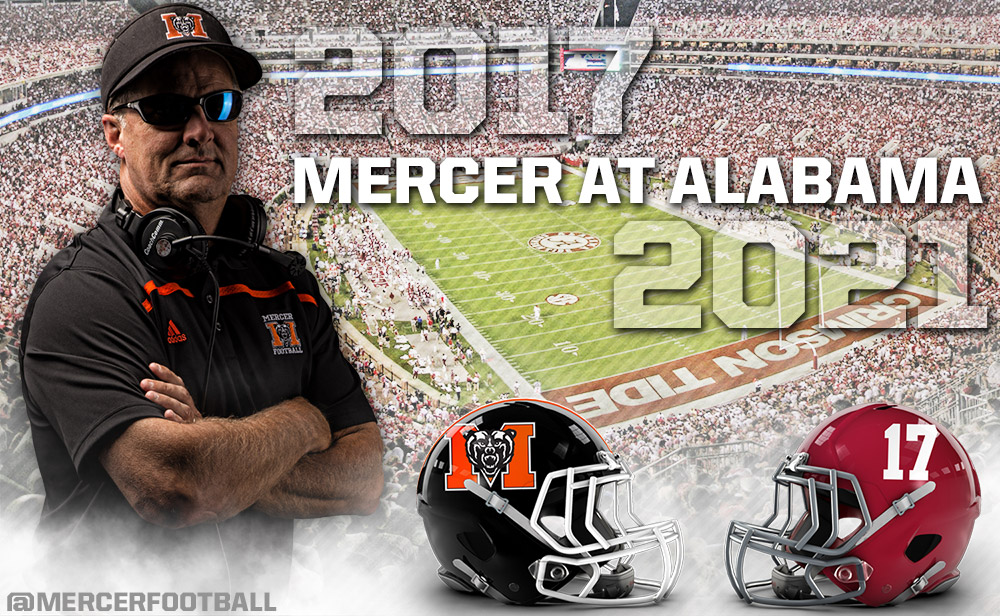 Mercer Football To Take On National Champion Alabama The Lamar