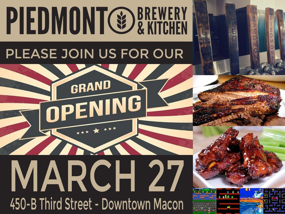 Piedmont Brewery & Kitchen Macon GA