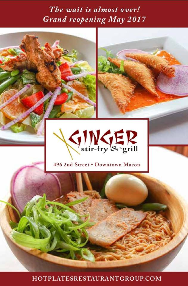 Ginger Stir-Fry & Grill